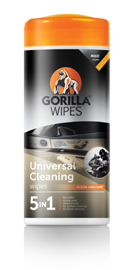 Gorilla Universal Cleaning Wipes